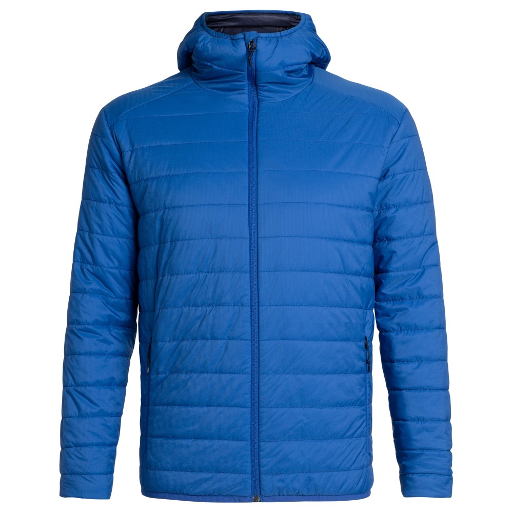 Icebreaker Hyperia Hooded Jacket Mens Surf