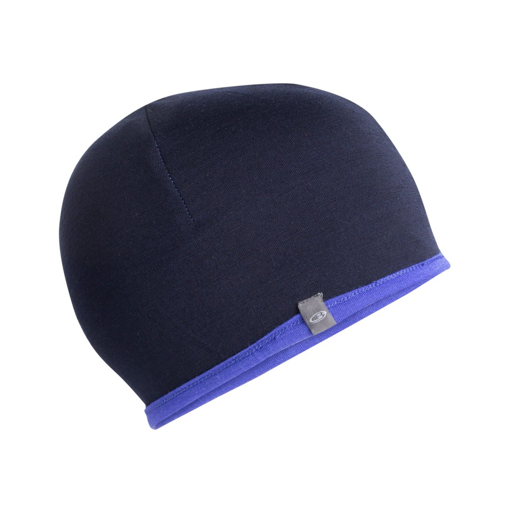 Icebreaker Pocket Hat Mystic/Midnight Navy