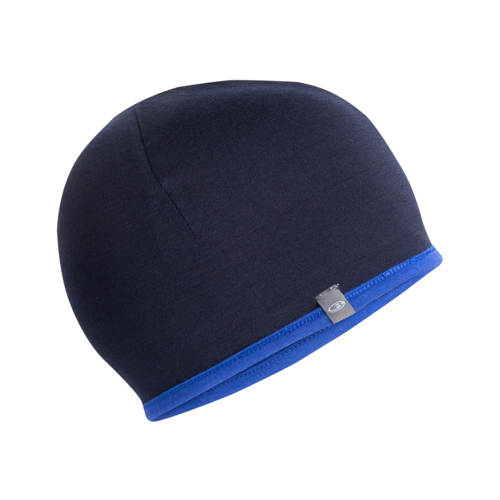 Icebreaker Pocket Hat Surf/Midnight Navy