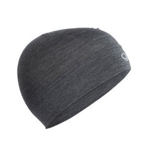 Icebreaker Chase Beanie in Jet Heather