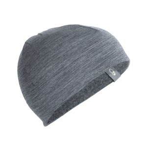 Icebreaker Sierra Beanie in Gritstone Heather II