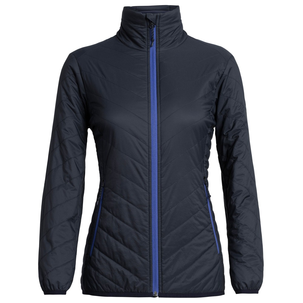Icebreaker Hyperia Lite Jacket Womens Midnight Navy