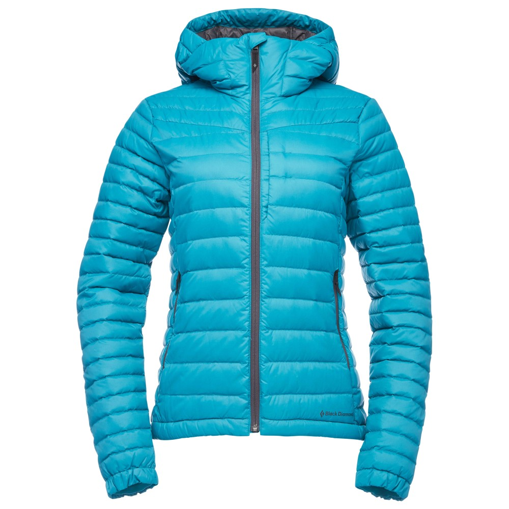 Black Diamond Access Down Hoody Womens Aqua Verde