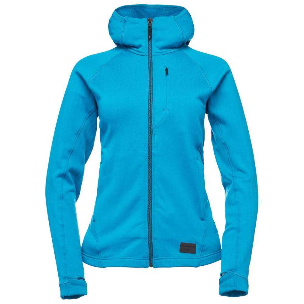 Black Diamond Factor Hoody Womens Azul