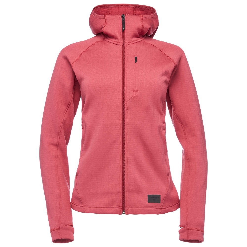 Black Diamond Factor Hoody Womens Wild Rose