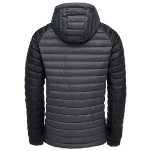 Access Down Hoody Mens Carbon/Black