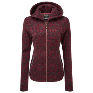 Sherpa Namla Hooded Jacket II Womens in Shaadi Red