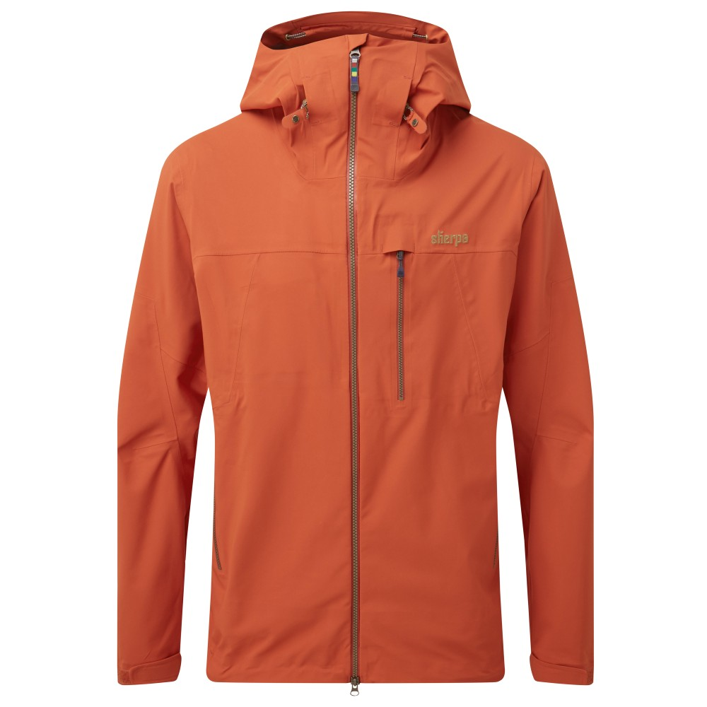 Sherpa Makalu Jacket Mens Teej Orange