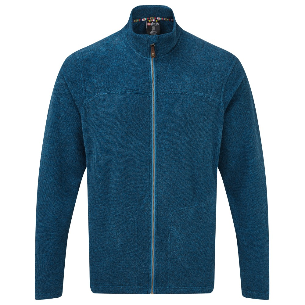 Sherpa Rolpa Jacket Mens Raja Blue