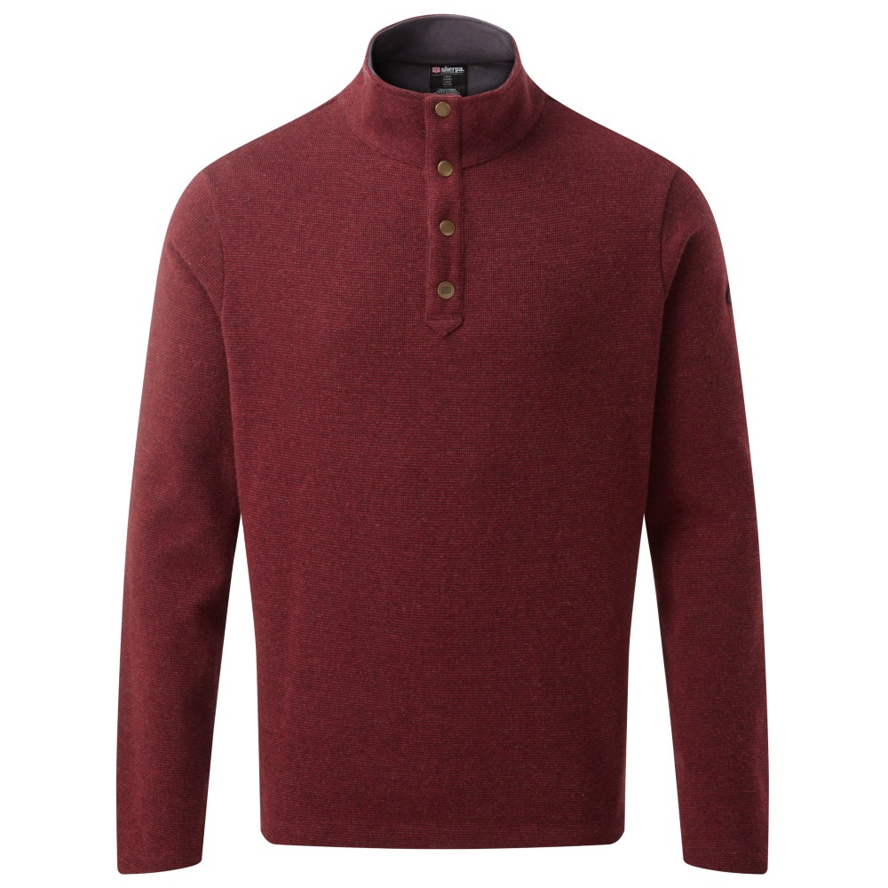 Sherpa Mukti Pullover Mens Potala Red
