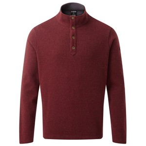 Sherpa Mukti Pullover Mens in Potala Red
