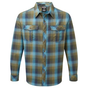 Sherpa Indra Shirt Mens in Mewa Green