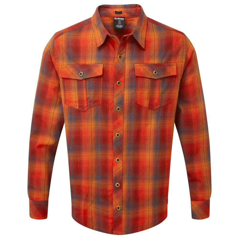 Sherpa Indra Shirt Mens Potala Red