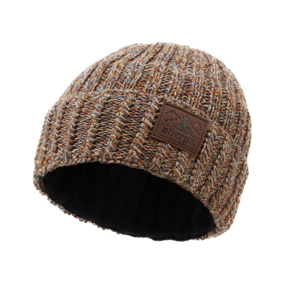 Sherpa Gurung Hat Henna Brown