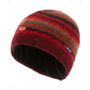 Sherpa Pangdey Hat in Potala Red