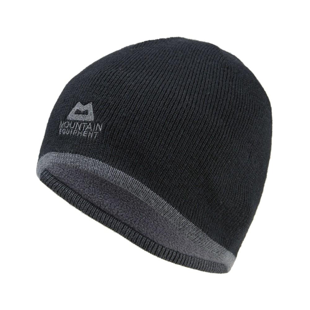 Mountain Equipment Plain Knitted Beanie Mens Black/Shadow