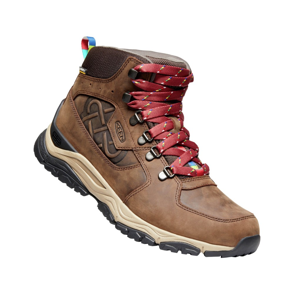 Keen Innate Leather Mid WP LTD Mens Root Brown