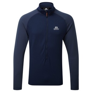 Mountain Equipment Eclipse Zip T Mens in Cosmos