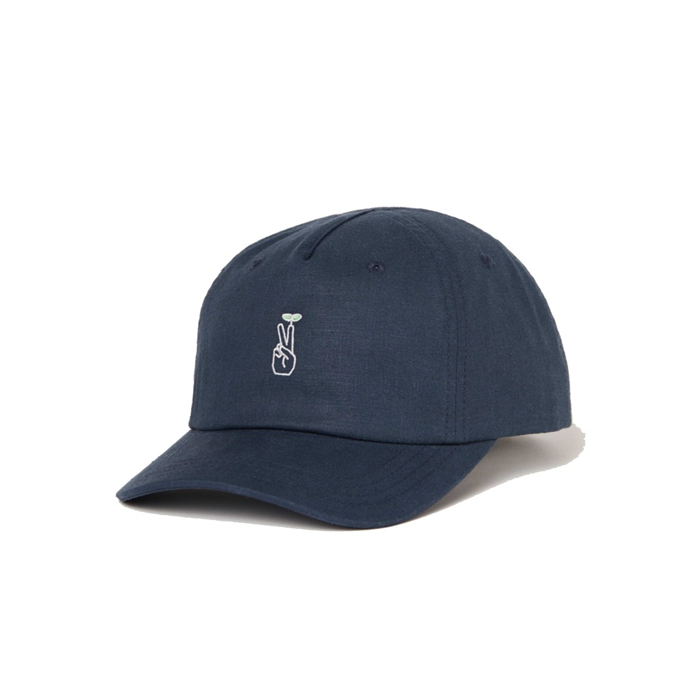 tentree Peak Cap Dark Ocean Blue Heather