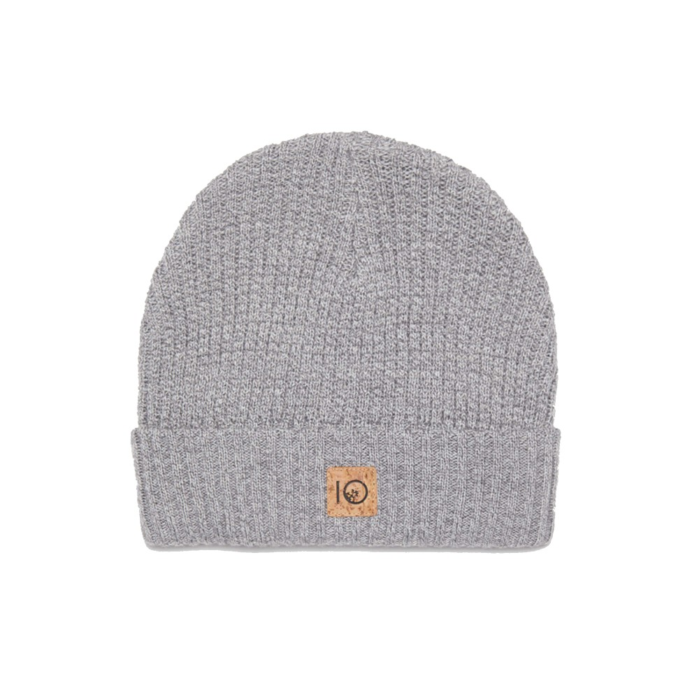 tentree Patch Beanie Hi Rise Grey Marled