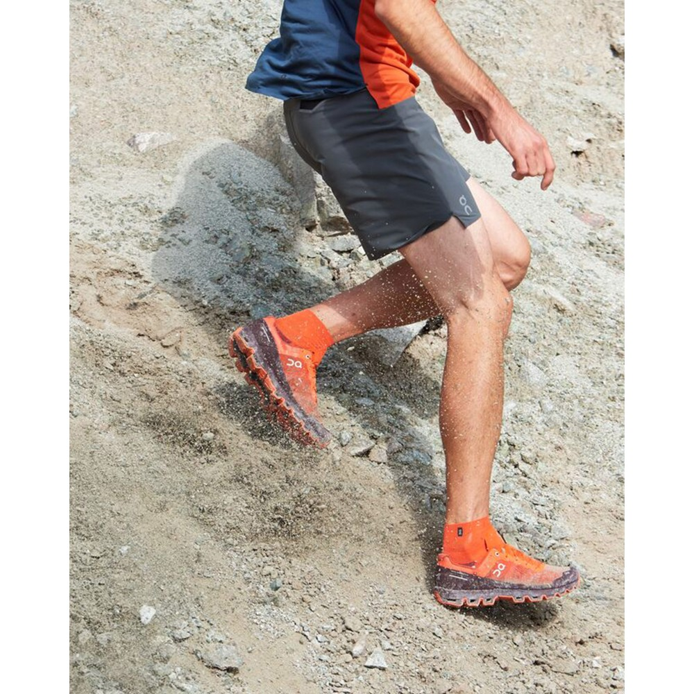 On Running Cloudventure Mens Flare/Dawn