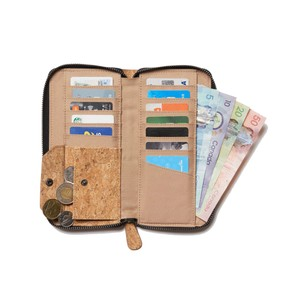 tentree Banker Cork Zip Wallet