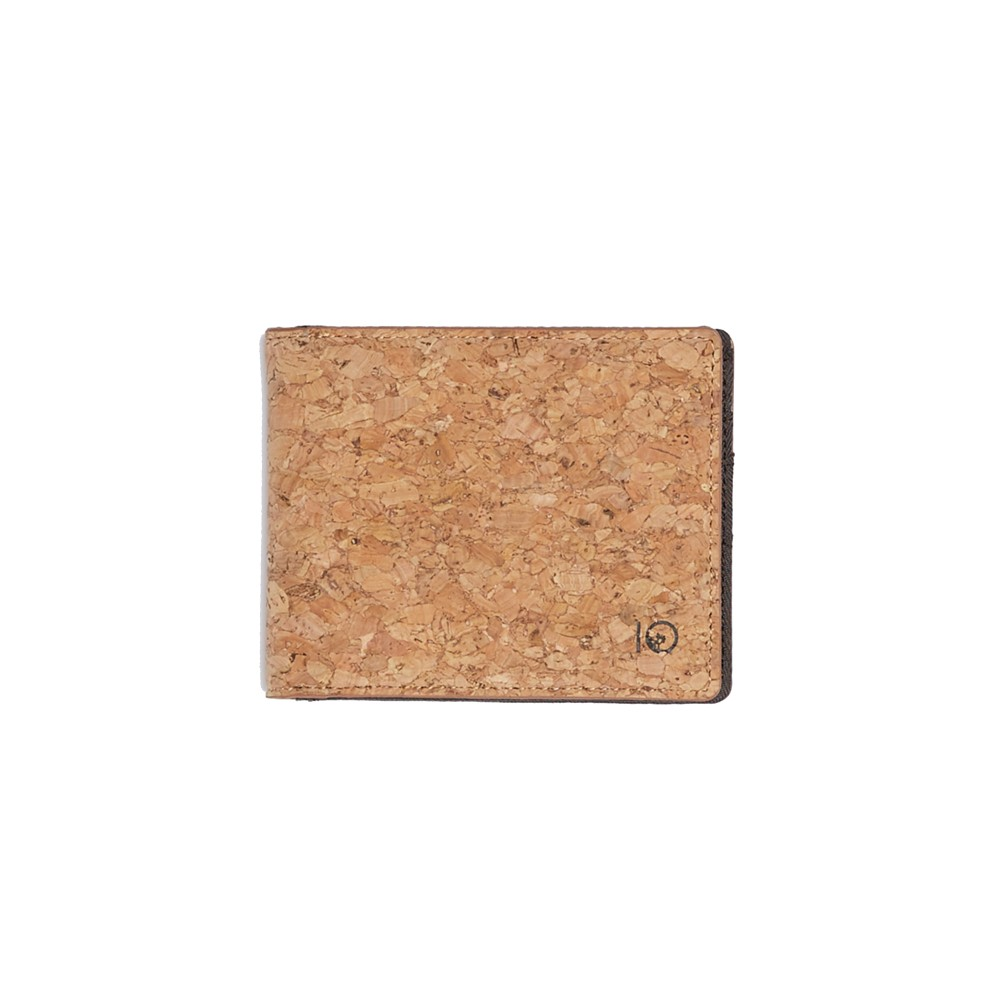 tentree Baron Wallet Cork Fabric