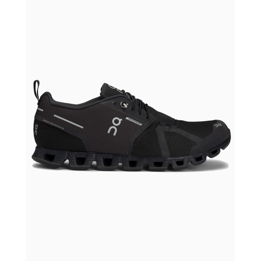 On Running Cloud Waterproof Mens Black/Lunar
