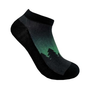 tentree 2-Bottle Ankle Sock (2-pack) in Alpine Trees Pack