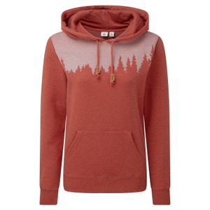 tentree Juniper Hoodie Womens in Mineral Red Heather