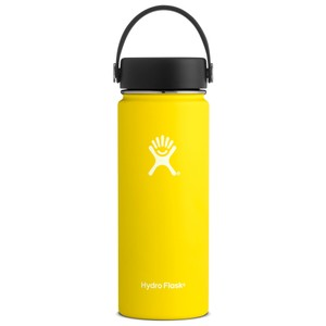 Hydro Flask 18oz Wide Mouth w/Flex Cap in Lemon