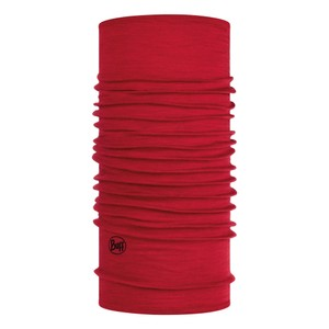Buff Lightweight Wool Buff in Solid Red