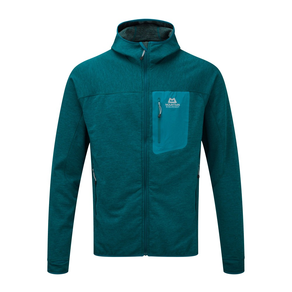 Mountain Equipment Pivot Hooded Jacket Mens Tasman Blue