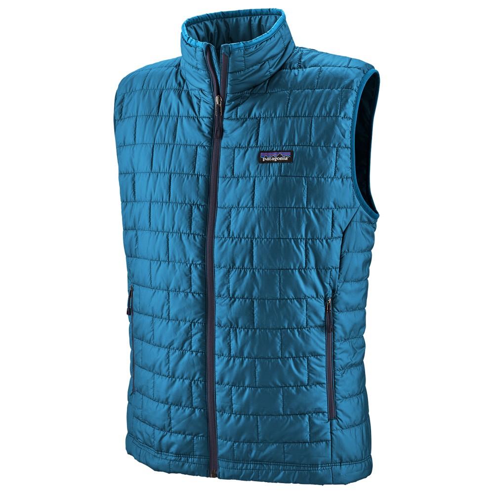 Patagonia Nano Puff Vest Mens Balkan Blue