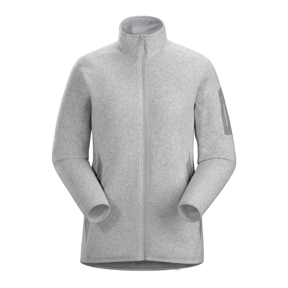 Arcteryx  Covert Cardigan Womens Athena Grey Heather