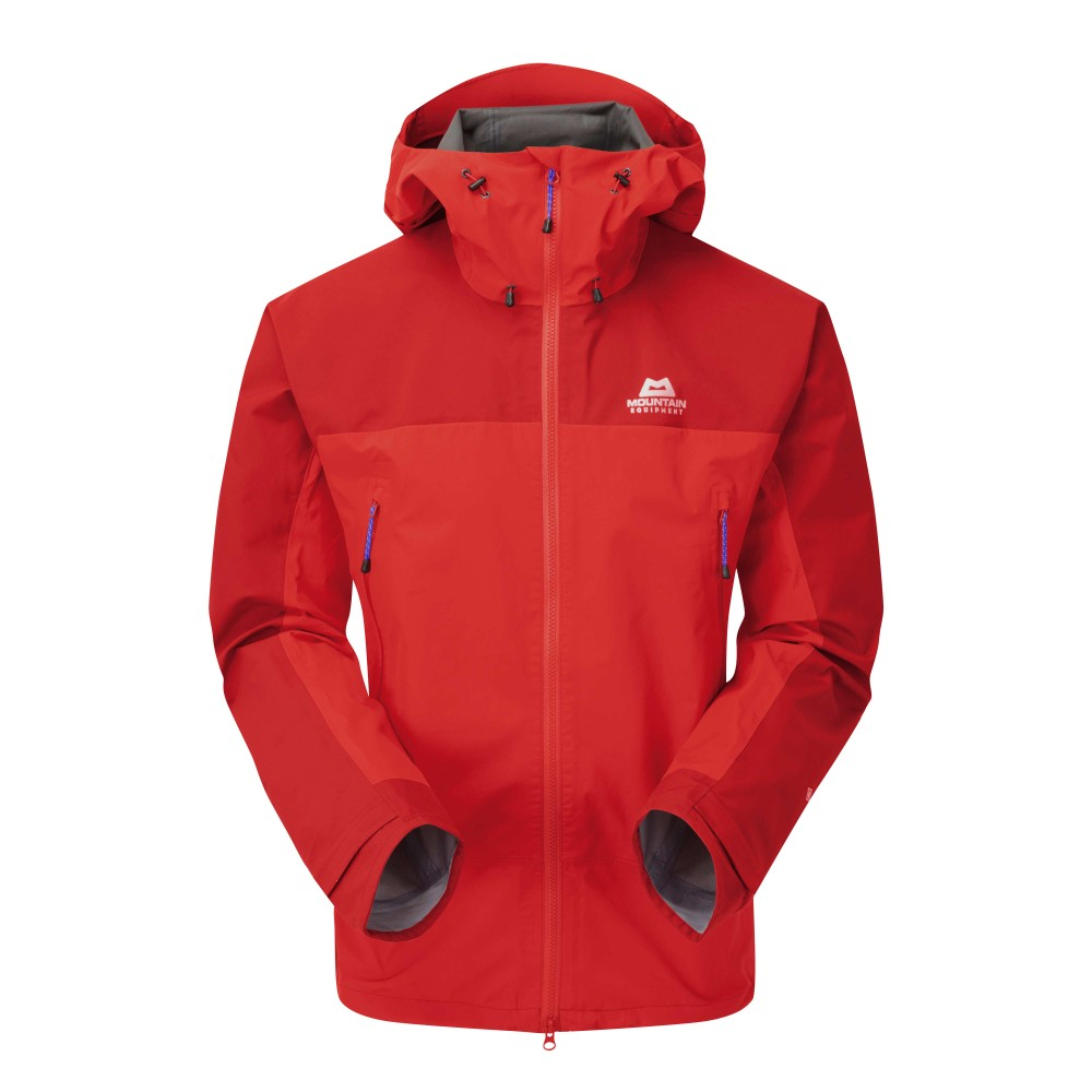 Mountain Equipment Saltoro Jacket Mens Imperial Red/Crimson