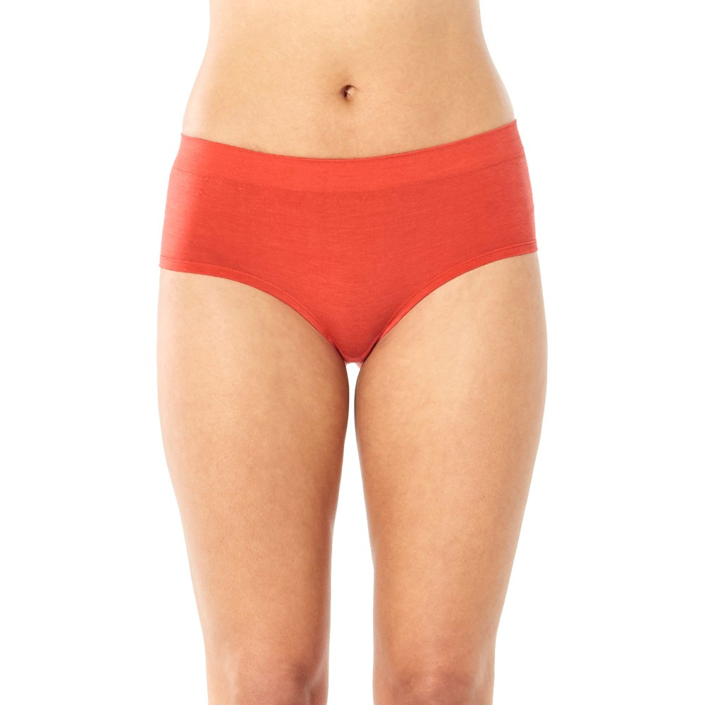 Icebreaker Anatomica Seamless Sport Hipkini Womens Fire