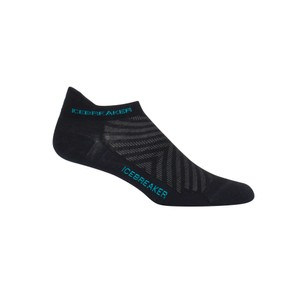 Icebreaker Run  Ultralight Micro Womens in Black