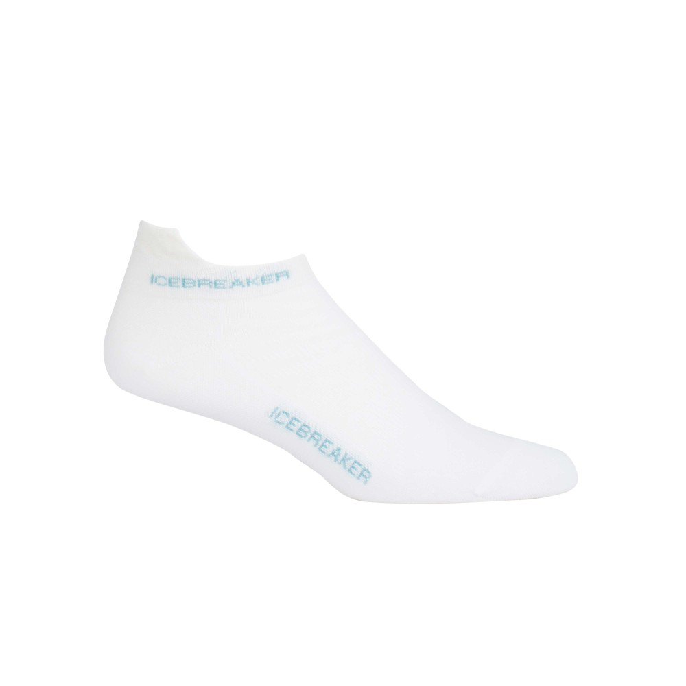 Icebreaker Run  Ultralight Micro Womens White