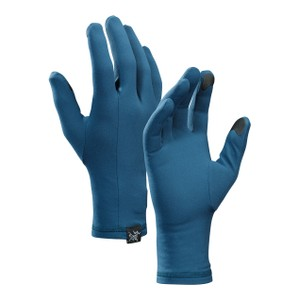 Arcteryx  Rho Glove in Hecate Blue