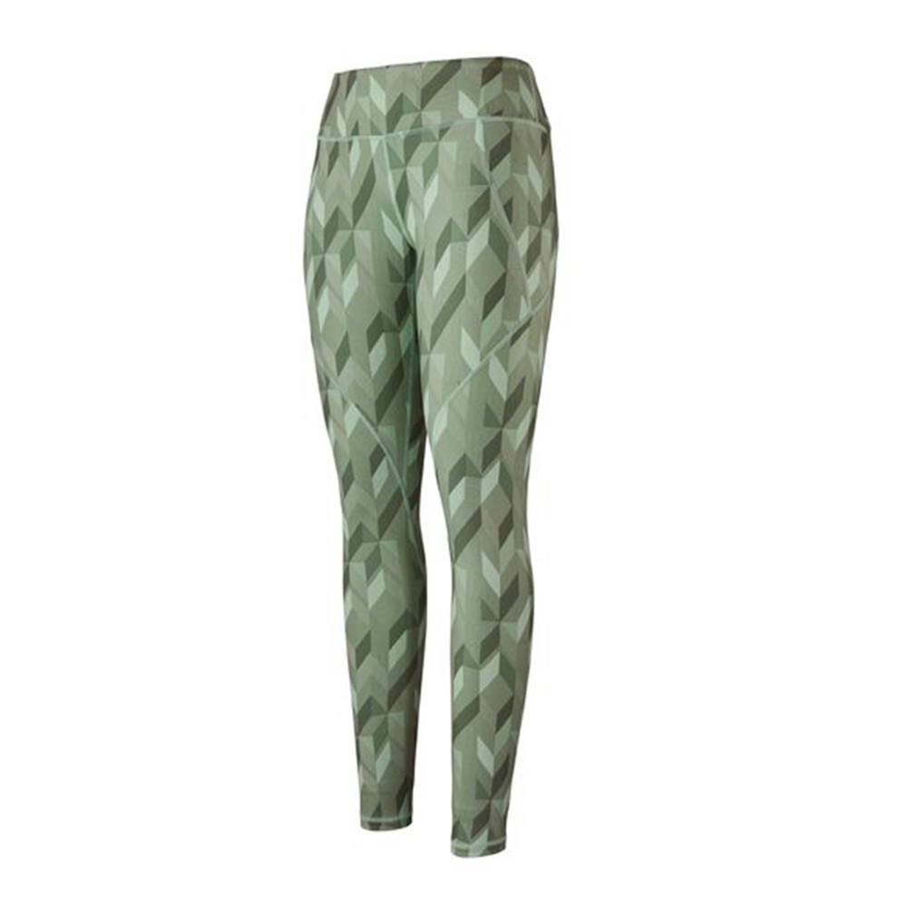 Patagonia Centred Tights Womens Fast Quilt:Gypsum Green