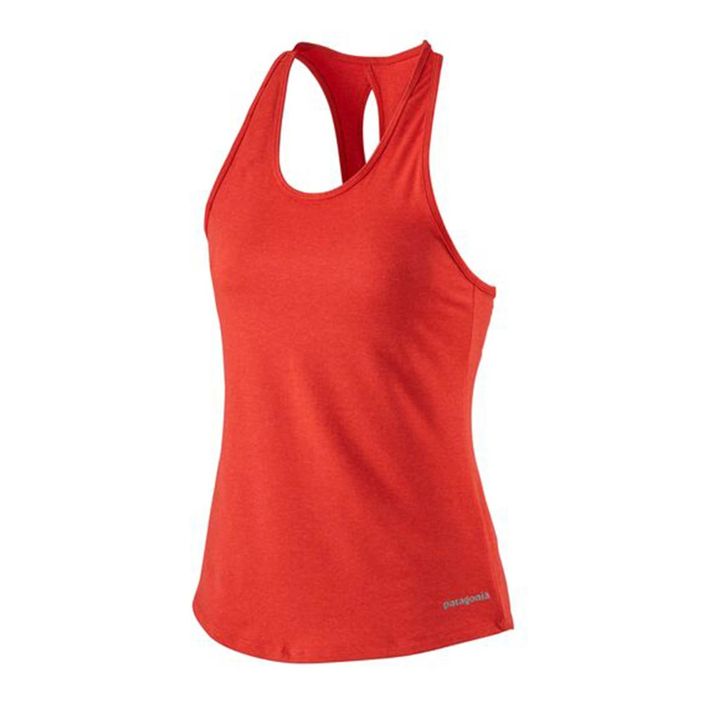 Patagonia Seabrook Run Tank Womens Catalan Coral