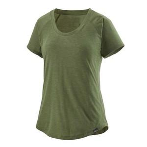 Cap Cool Trail Shirt Womens Camp Green