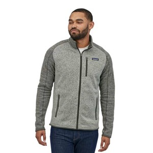 Patagonia Better Sweater Jacket Mens in Nickel/Forge Grey
