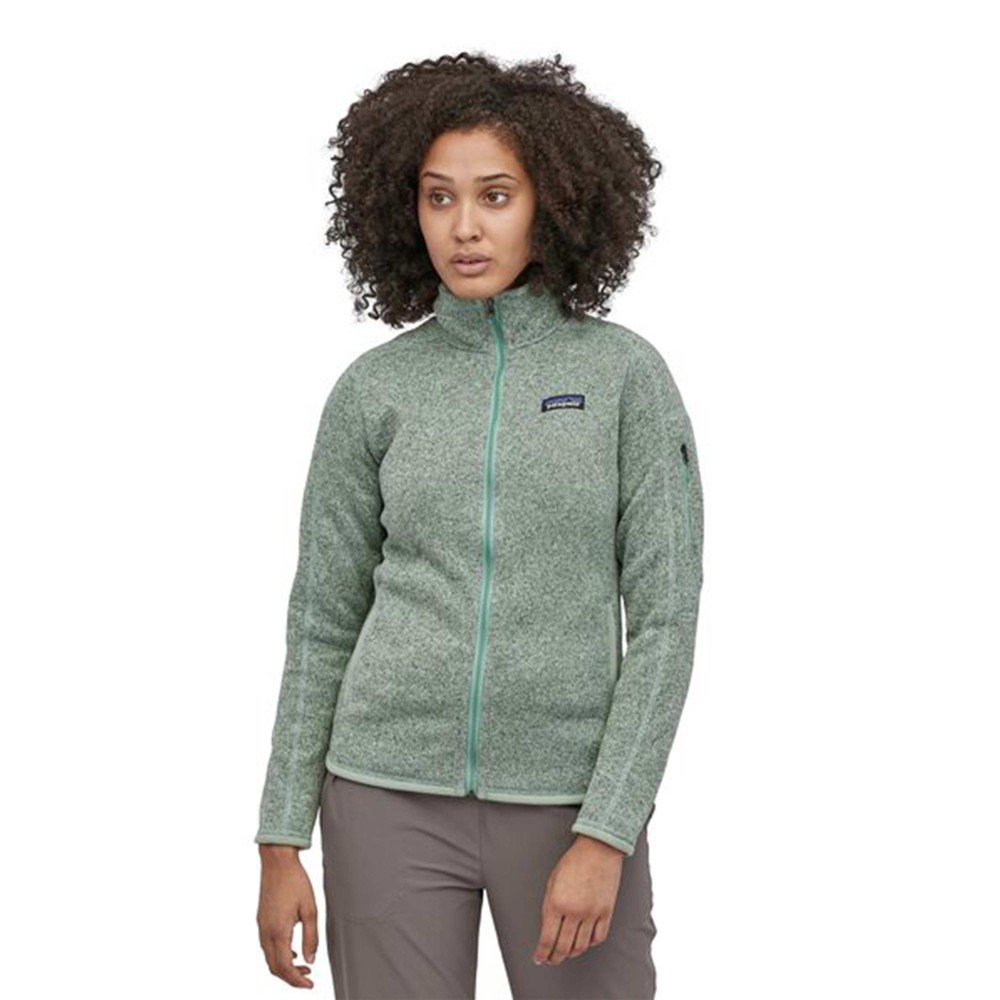 Patagonia Better Sweater Jacket Womens Gypsum Green