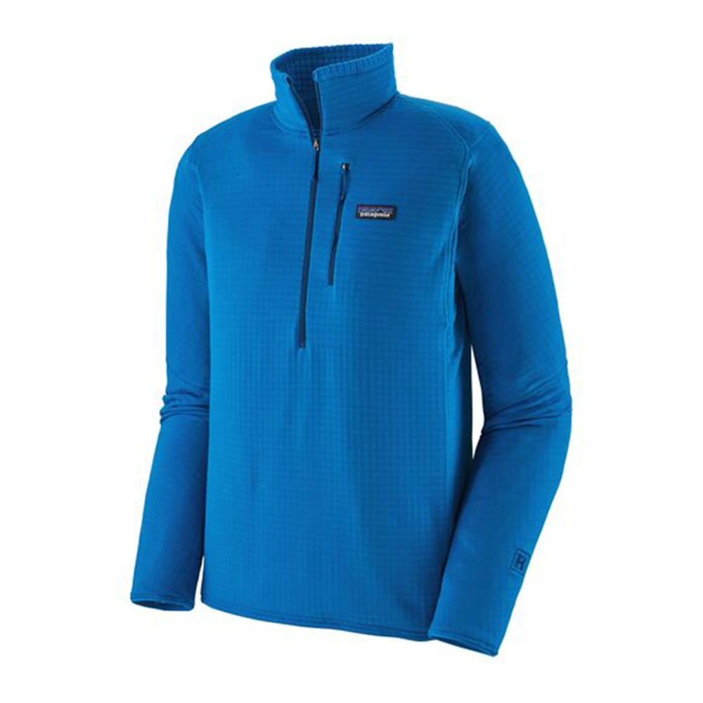 Patagonia R1 Pullover Mens Andes Blue