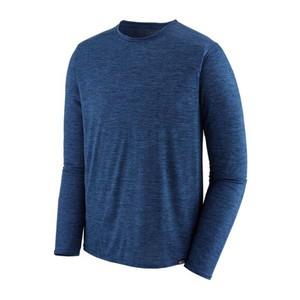 LS Cap Cool Daily Shirt Mens Viking Blue/Navy Blue
