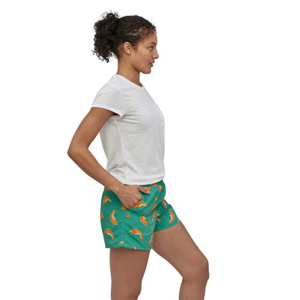 Patagonia Baggies Shorts Womens Melons: Light Beryl Green