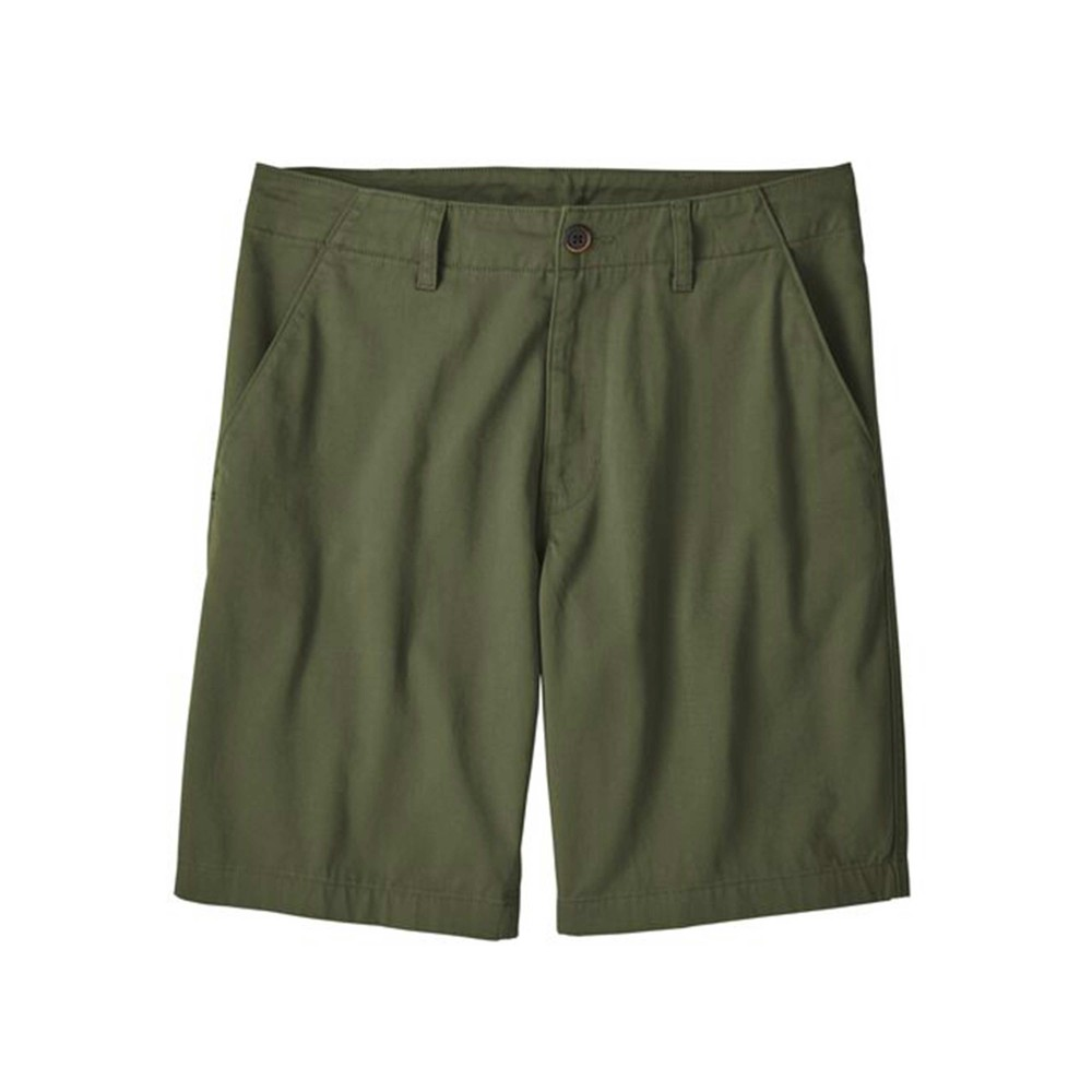 Patagonia Four Canyon Twill Shorts - 10 inch - Mens Industrial Green