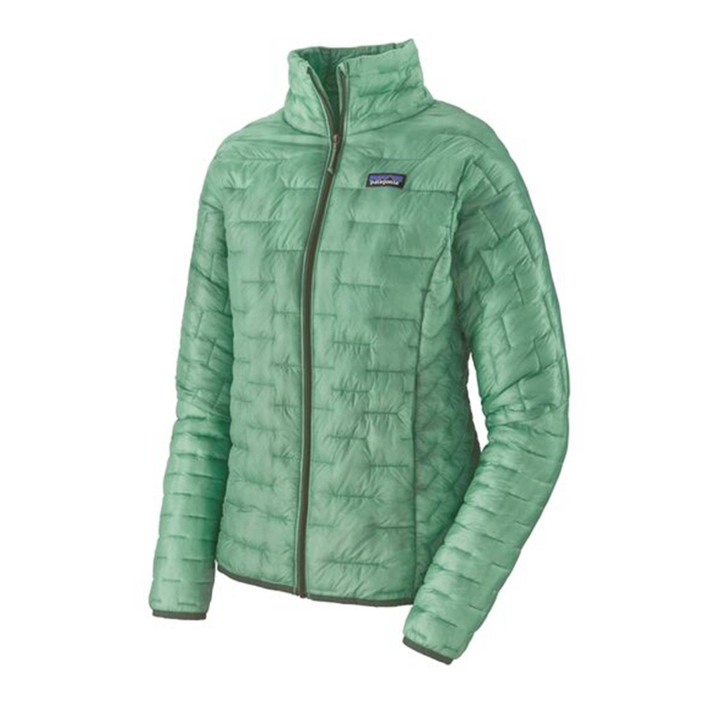 Patagonia Micro Puff Jacket Womens Gypsum Green
